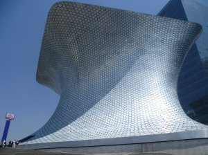 Mexico City's newest museum, El Museo Soumaya, opened to the public in March 2011.