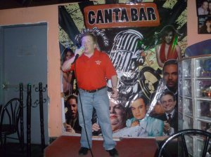 Me singing in Mexico City.