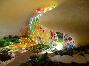 Inside the Nautilus house.