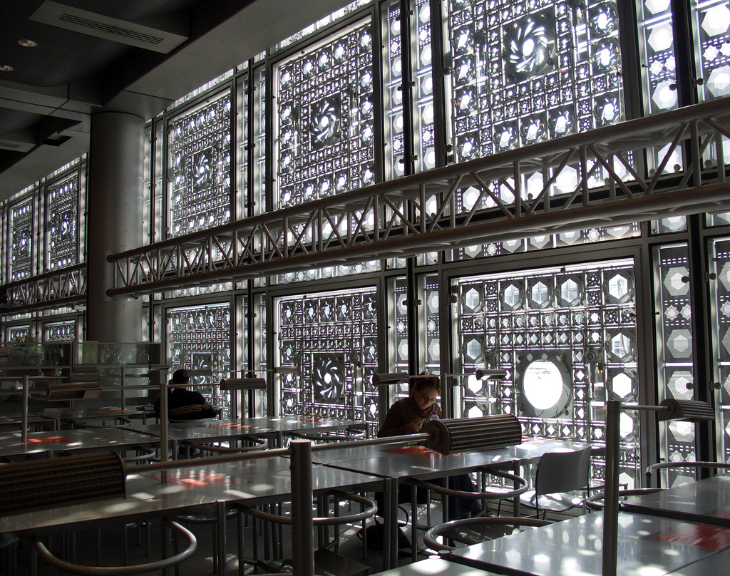 Institut du monde arabe jean nouvel academic pinterest for Architecture arabe