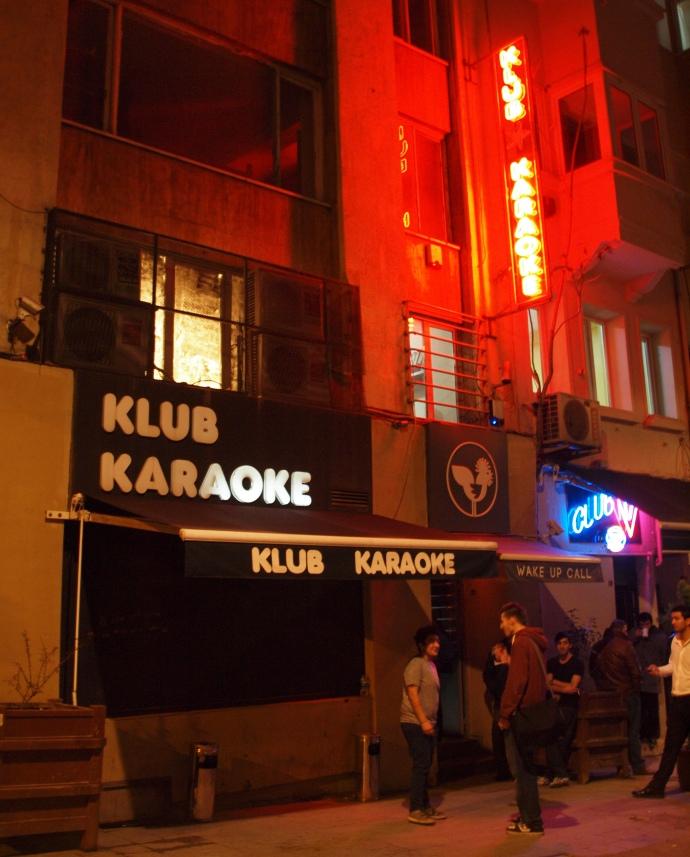 Klub Karaoke, the venue where I made my Turkish karaoke debut!