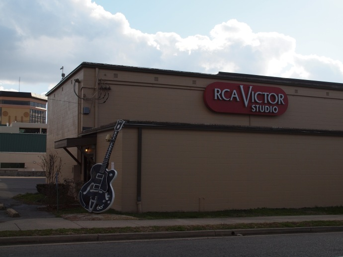 The exterior of historic RCA Studio B.