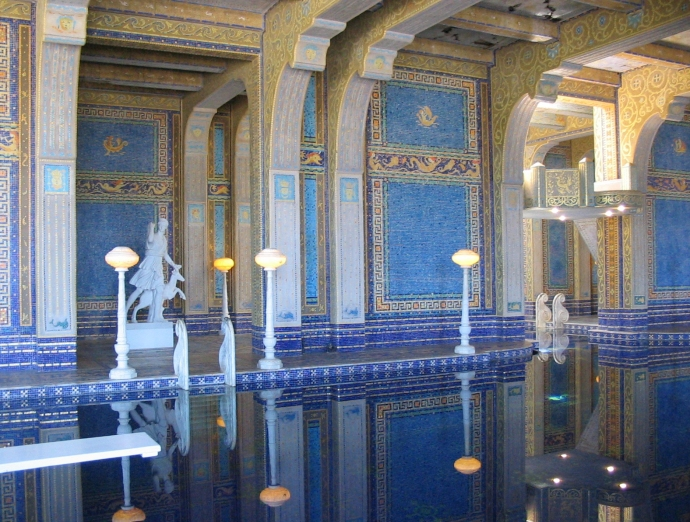 hearst castle pool 1