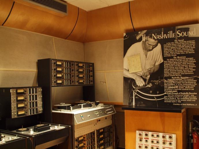 Inside RCA Studio B.