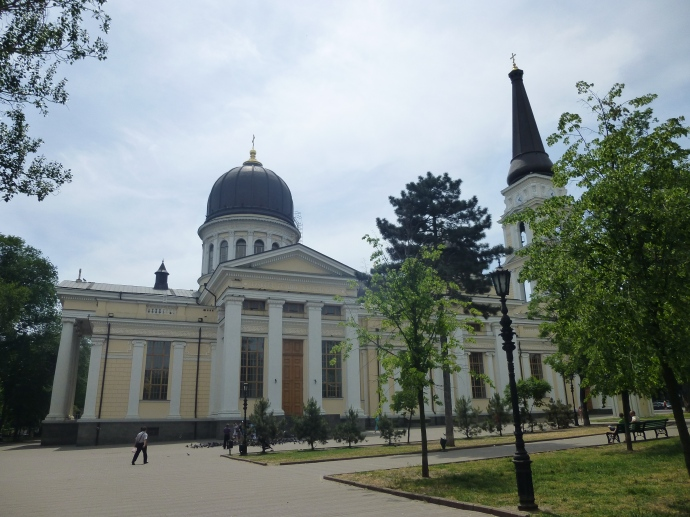 The Odessa Orthodox Cathedral.