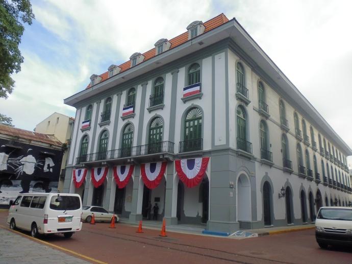 The Museo del Canal Interoceánico de Panamá (Panama Interoceanic Canal Museum) in Panama City.