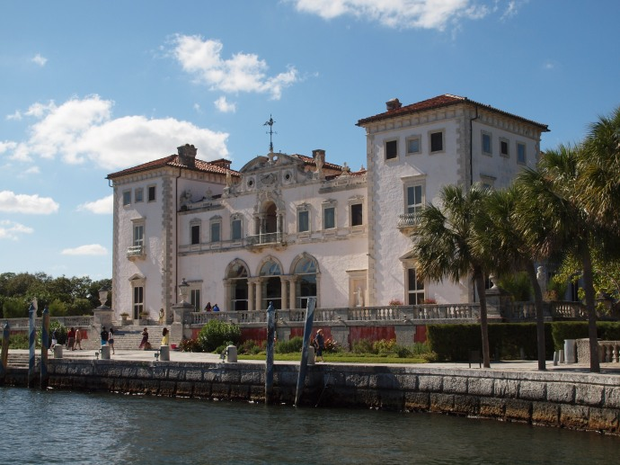 The villa at Vizcaya Museum & Gardens