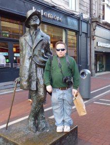 Me with Jimmy Joyce