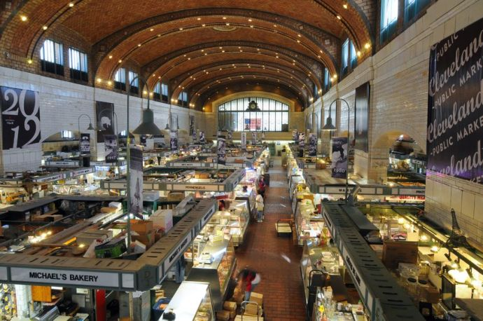 Stock photo of the West Side Market.