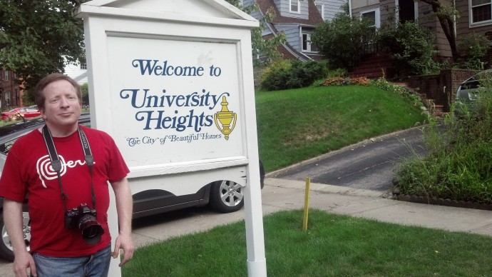 I returned to the town of University Heights for the first time in over 38 and a half years.