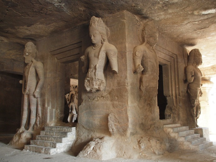 cave temple in Elephanta