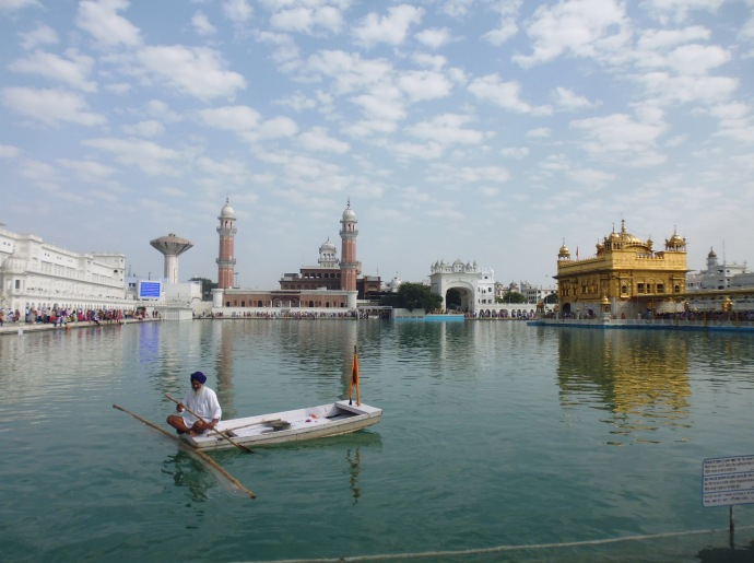 Many journeys take place at the Golden Temple -- some literal, and some metaphorical.