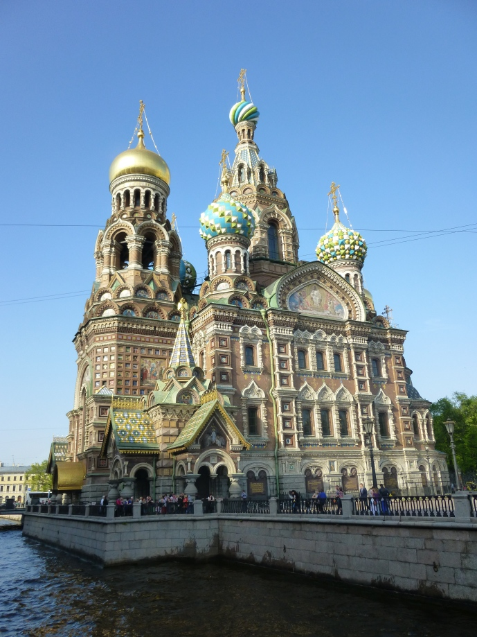 The Church of Our Saviour on Spilled Blood is one of St. Petersburg's gorgeous cathedrals.