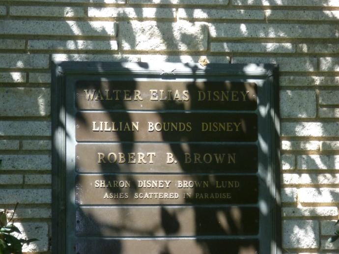 Walt Disney.