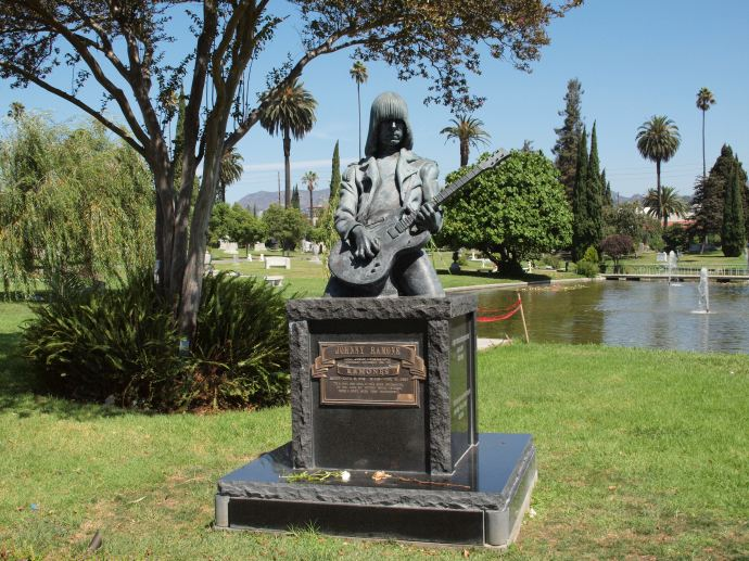 Punk rock legend Johnny Ramone has been permanently sedated.