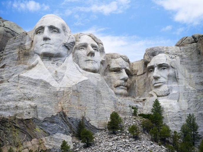 Stock photo of the Mount Rushmore National Monument, which I'll be visiting in July.