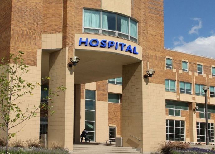 In September, I'll be admitted to the hospital. (Full disclosure: the hospital shown in this stock photo is not the actual medical facility where my heart surgery will be performed.)