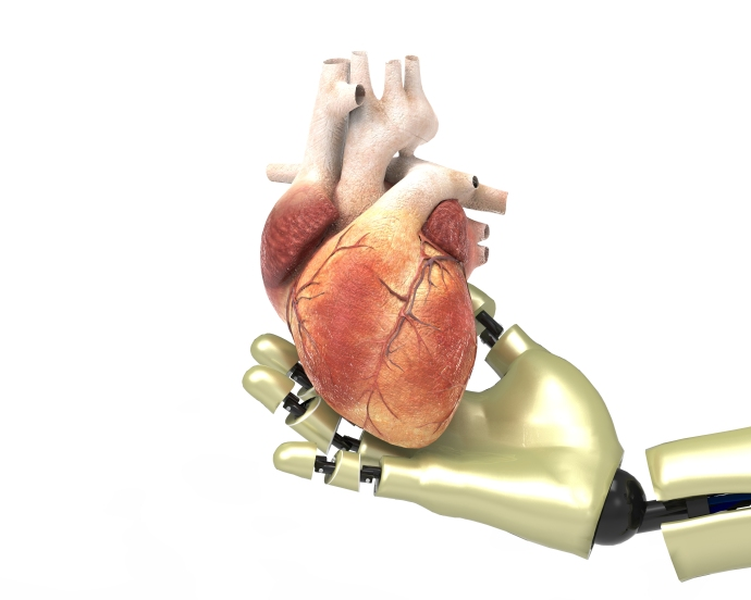 My heart was operated on robotically.