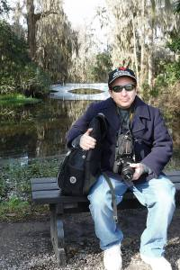 Me on the grounds of the Magnolia Plantation & Gardens, about ten miles outside of Charleston