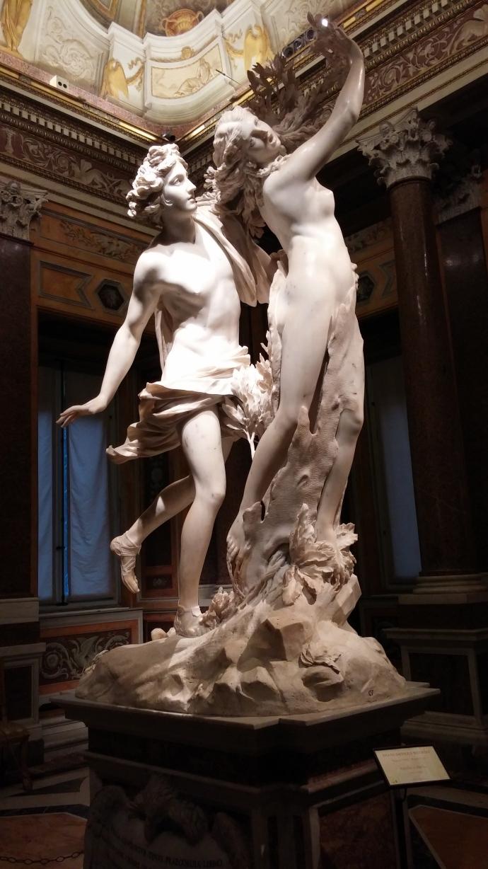 """Bernnini's """"Dafne e Apollo."""""""