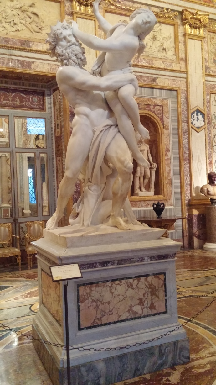 "Bernini's ""The Rape of Proserpina."""
