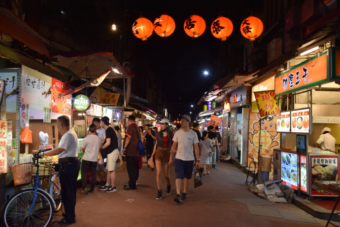 Another scene from the night market.