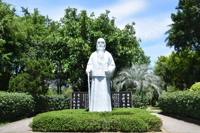 In the gardens surrounding the Sun Yat-sen Memorial is this statue of Yu Youren.