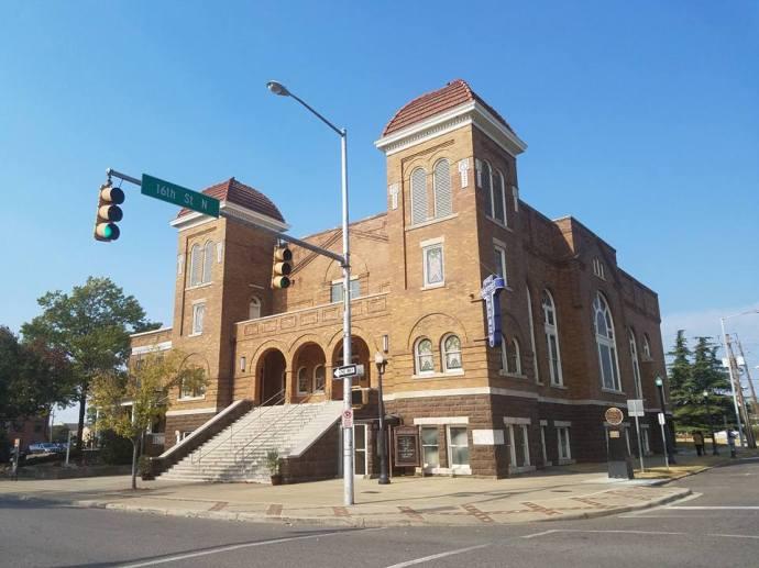 The 16th Street Baptist Church in Birmingham.