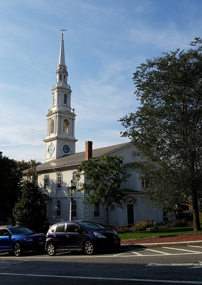 The First Baptist Church in Providence was built in 1775.