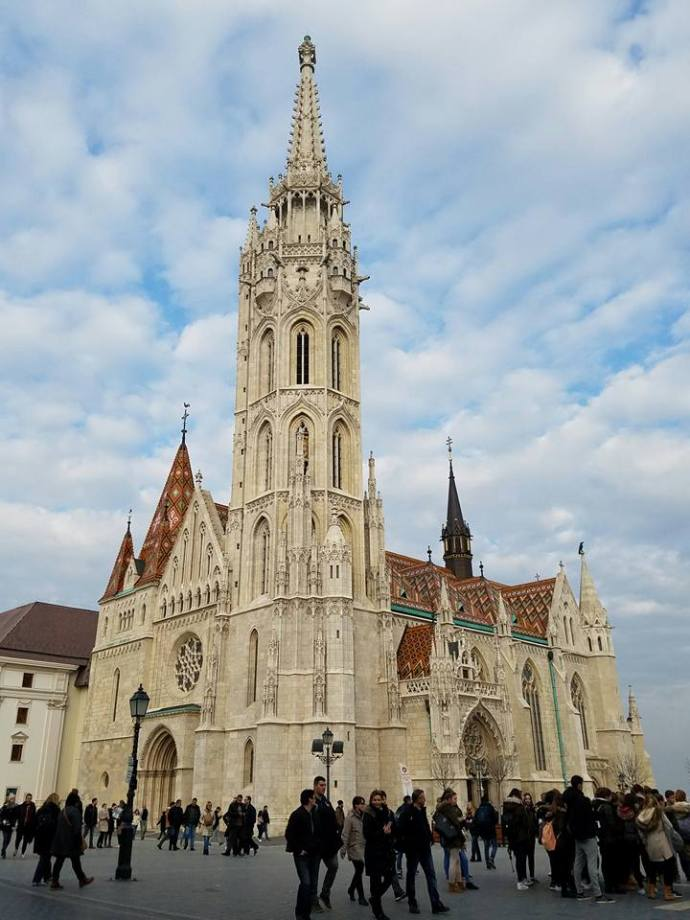 The Matthias Church.
