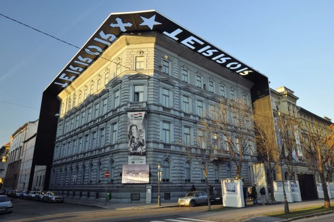 Stock photo of the House of Terror museum.